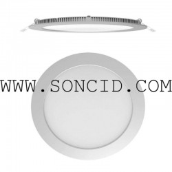 PANEL LED CIRCULAR CALIDO 165mm