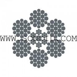 METRO CABLE TRACCION BRUGG TSR 6.7 mm Z