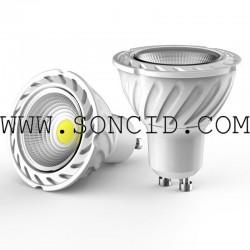 BOMBILLA LED BLANCO CALIDO MR16 220v