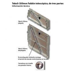 FALDON RETRACTIL TK345 MED. ESPECIAL