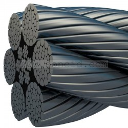 METRO CABLE KISWIRE GEARLESS W 6.5 mm.