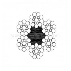 METRO CABLE KISWIRE LIMITADOR 6x19+1 6 mm.