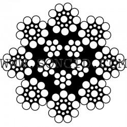 METRO CABLE ACERO 9 mm. 8MC-